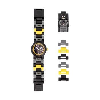 Часы наручные Lego Super Heroes с минифигурой Batman, на ремешке