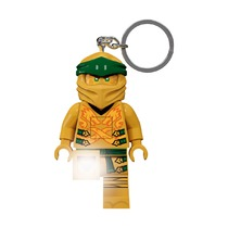 Брелок-фонарик для ключей Lego Ninjago Gold Ninja
