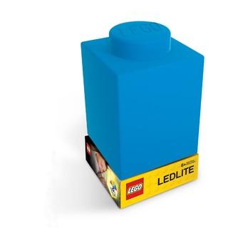 Фонарик силиконовый Lego, синий