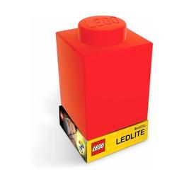 Фонарик силиконовый Lego, красный