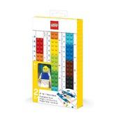 Конструируемая линейка с минифигуркой Lego Classic