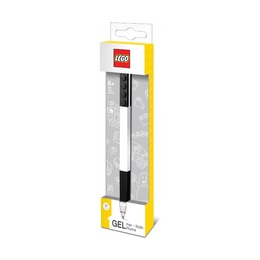 Черная гелевая ручка Lego Classic