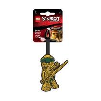 Бирка для багажа Lego Ninjago Movie Gold Ninja