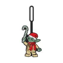 Бирка для багажа Lego Star Wars Yoda Holiday