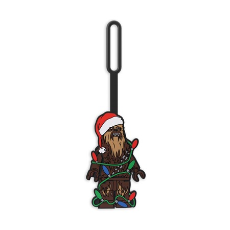 Бирка для багажа Lego Star Wars Chewbacca Holiday