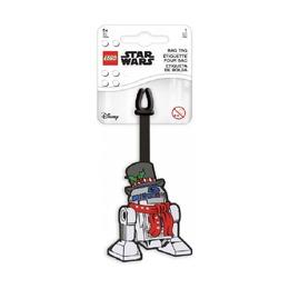 Бирка для багажа Lego Star Wars R2-D2 Holiday