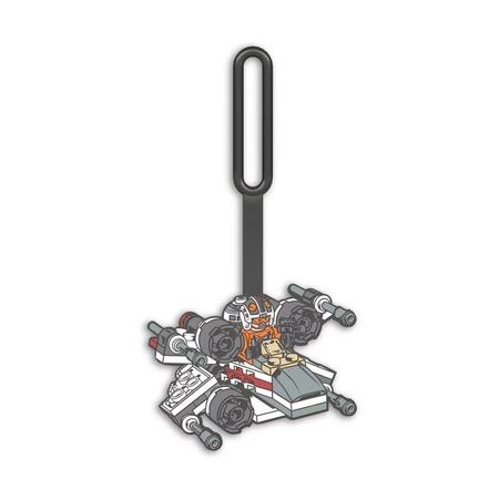 Бирка для багажа Lego Star Wars X-wing