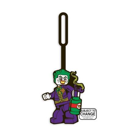 Бирка для багажа Lego Super Heroes The Joker