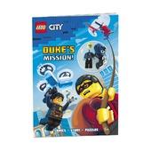Книга с игрушкой City Миссии Дюка!