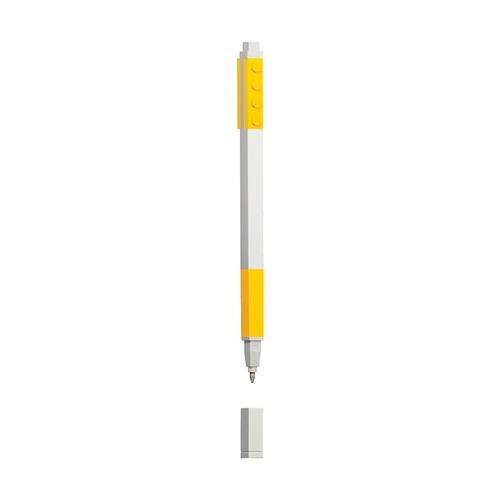 Гелевая ручка Lego, желтая