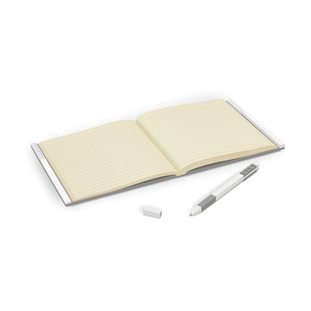 Книга для записей, с серой гелевой ручкой Lego Locking Notebook