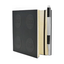 Книга для записей, с черной гелевой ручкой Lego Locking Notebook