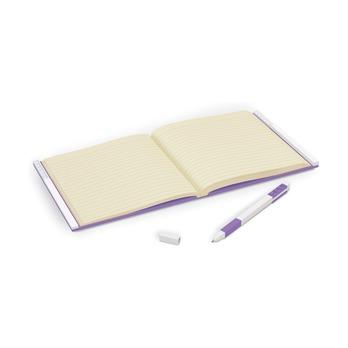 Книга для записей, с лиловой гелевой ручкой Lego Locking Notebook