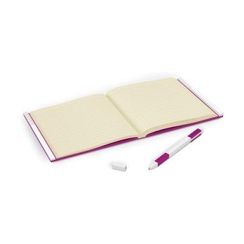 Книга для записей, с фиолетовой гелевой ручкой Lego Locking Notebook