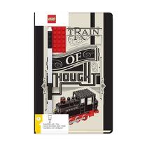 Книга для записей, с черной гелевой ручкой Lego Classic Train of Thought