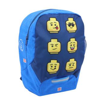Рюкзак Kindergarten Lego Faces Blue