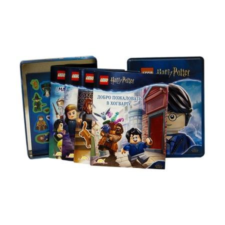 Набор книг с наклейками Harry Potter, коробка с книгами