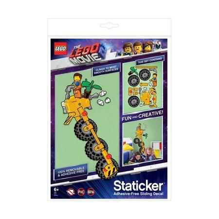 Набор статических наклеек Статикер Lego Movie 2 Emmet Vehicle