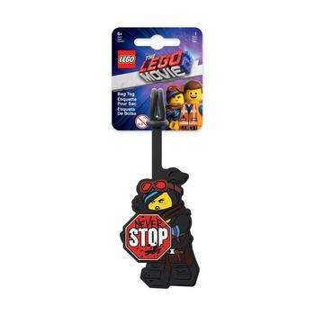Бирка для багажа Lego Movie 2 Wyldstyle