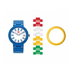 Часы наручные аналоговые Brick Blue Adult Watch с календарем