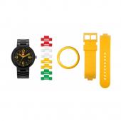 Часы наручные аналоговые Brick Pink Adult Watch с календарем