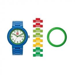 Часы наручные аналоговые Classic Blue/Green Adult Watch с календарем