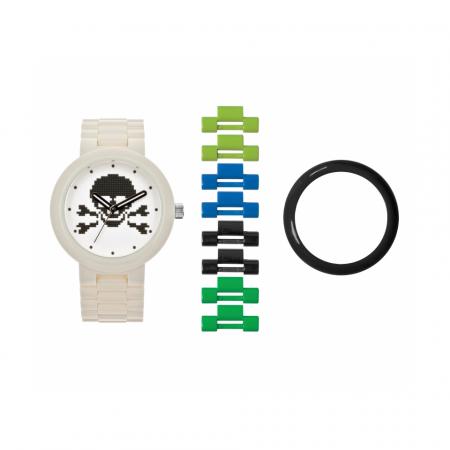 Часы наручные аналоговые Skull White Adult Watch