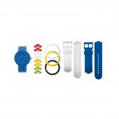 Часы наручные аналоговые Multistud Blue Adult Watch с календарем