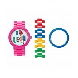 Часы наручные аналоговые I Love Lego Adult Watch Pink