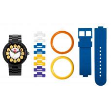 Часы наручные аналоговые Fan Club Black/Yellow Adult Watch с календарем