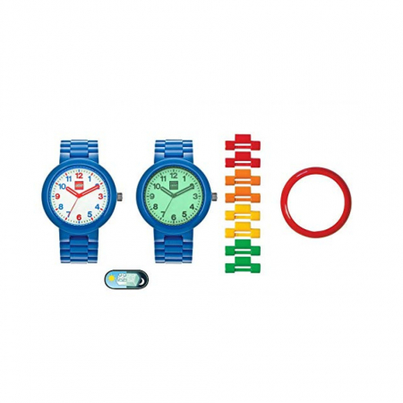 Часы наручные аналоговые Adult Watch Classic with Luminous Dial Blue