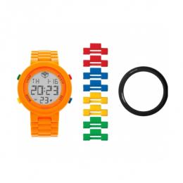 Часы наручные электронные Digifigure Orange Adult Watch с календарем