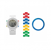Часы наручные электронные Digifigure White Adult Watch с календарем