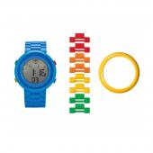 Часы наручные электронные Digifigure Blue Adult Watch с календарем