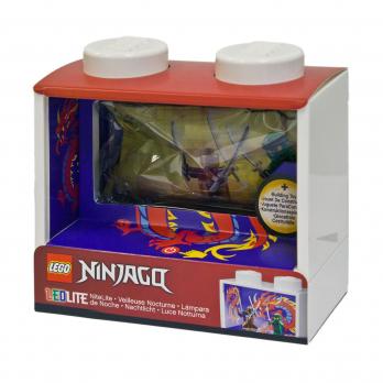 Фонарик-ночник с минифигуркой Ninjago Lloyd
