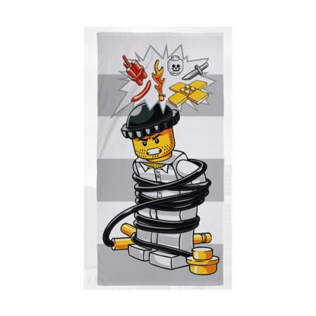 Полотенце Lego City Breakout