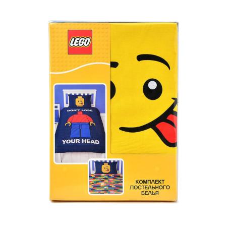 Постельное белье Lego Classic Head
