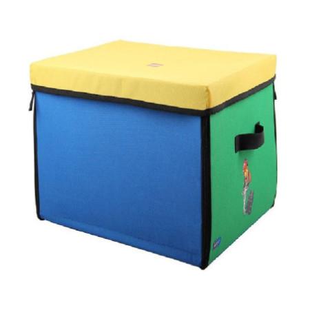 Коробка с крышкой тестильная Lego City, средняя