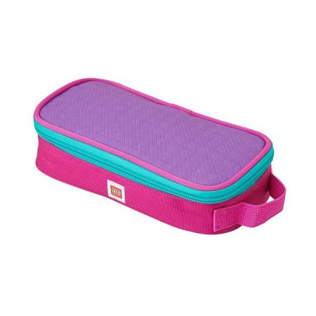 Пенал-кейс, розово-фиолетовый