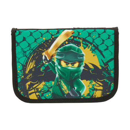 Пенал-книжка Ninjago Green с наполнением