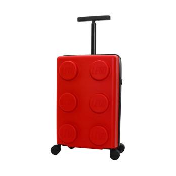 Чемодан на колесах Brick 2x3, красный