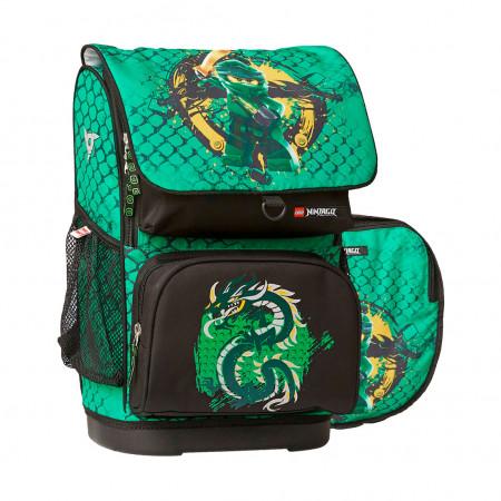 Ранец Optimo Ninjago Green, с наполнением